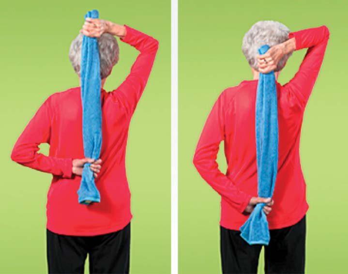 Flexibility exercises can help your body stay limber.