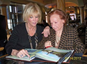 Joan and her mother, Gladyce, at age 93.