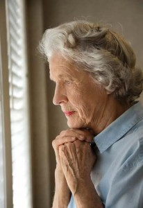Hospital stays can create stress for loved ones with Alzheimer's disease.