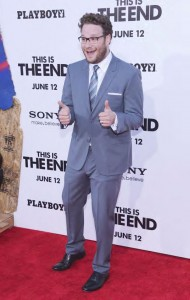 Seth Rogen attends the Premiere of Columbia Pictures' 'This Is The End'