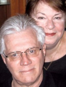 Tom and Karen Brenner and their new book, You Say Goodbye and We Say Hello.