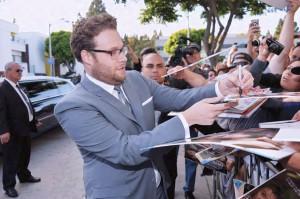 Seth Rogen autographs