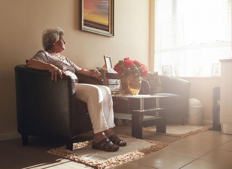 Elderly - light therapy