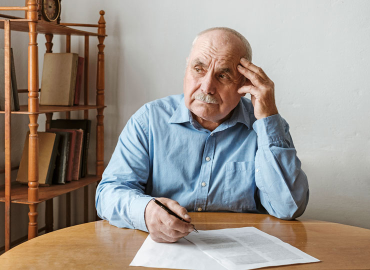 Alzheimer's Stages - Normal Stage Forgetfulness - Difficulty Concentrating