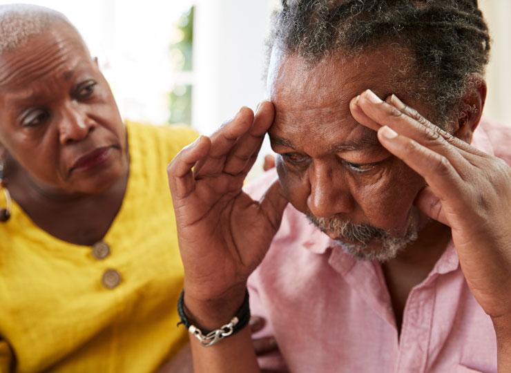 Alzheimer's Caregivers Risk Depression
